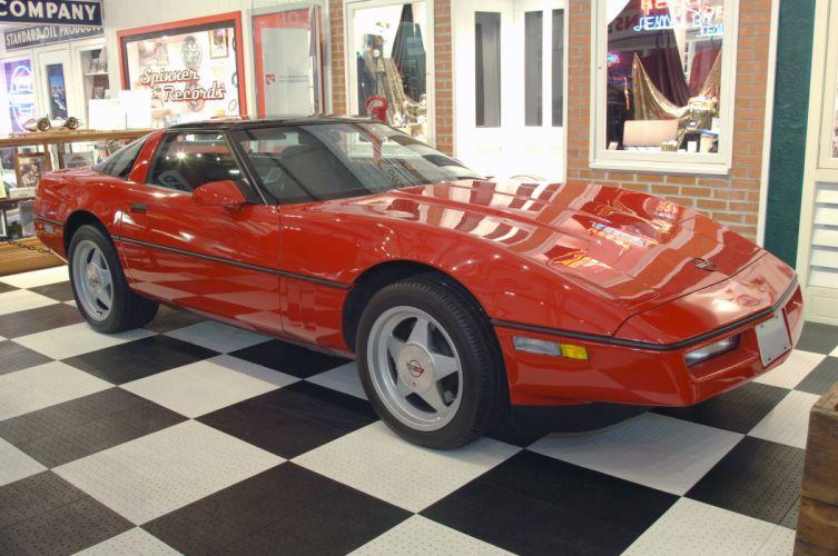 1990 Chevrolet Corvette R9G 90 Muscle Classic Old USA 01 wallpaper