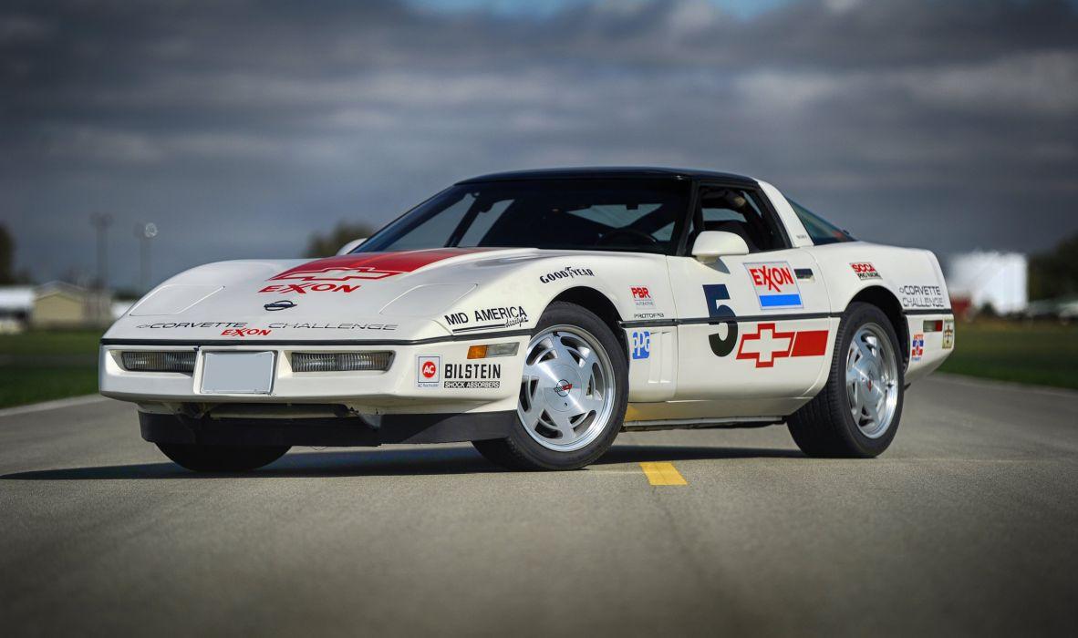 1988 Chevrolet Corvette Challenge Race Car Classic USA 05 wallpaper