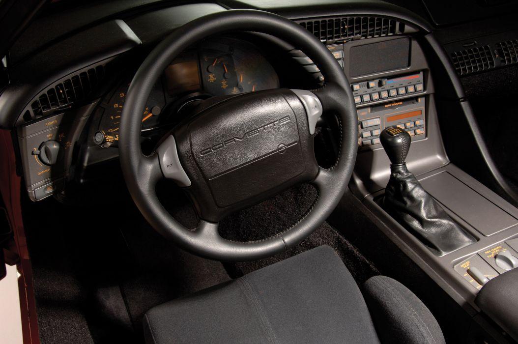 1990 Chevrolet Corvette R9G 90 Muscle Classic Old USA 03 wallpaper