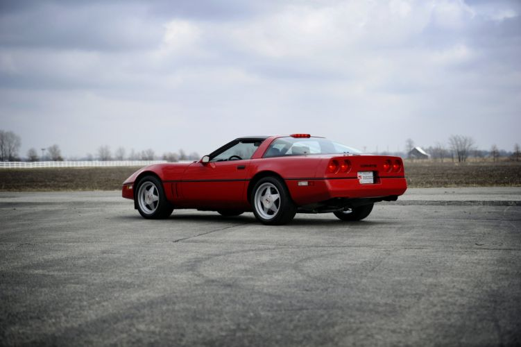 1990 Chevrolet Corvette R9G 90 Muscle Classic Old USA 09 wallpaper