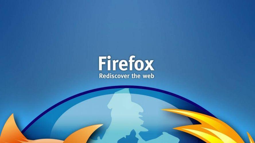 FIREFOX computer fire fox logo poster wallpaper