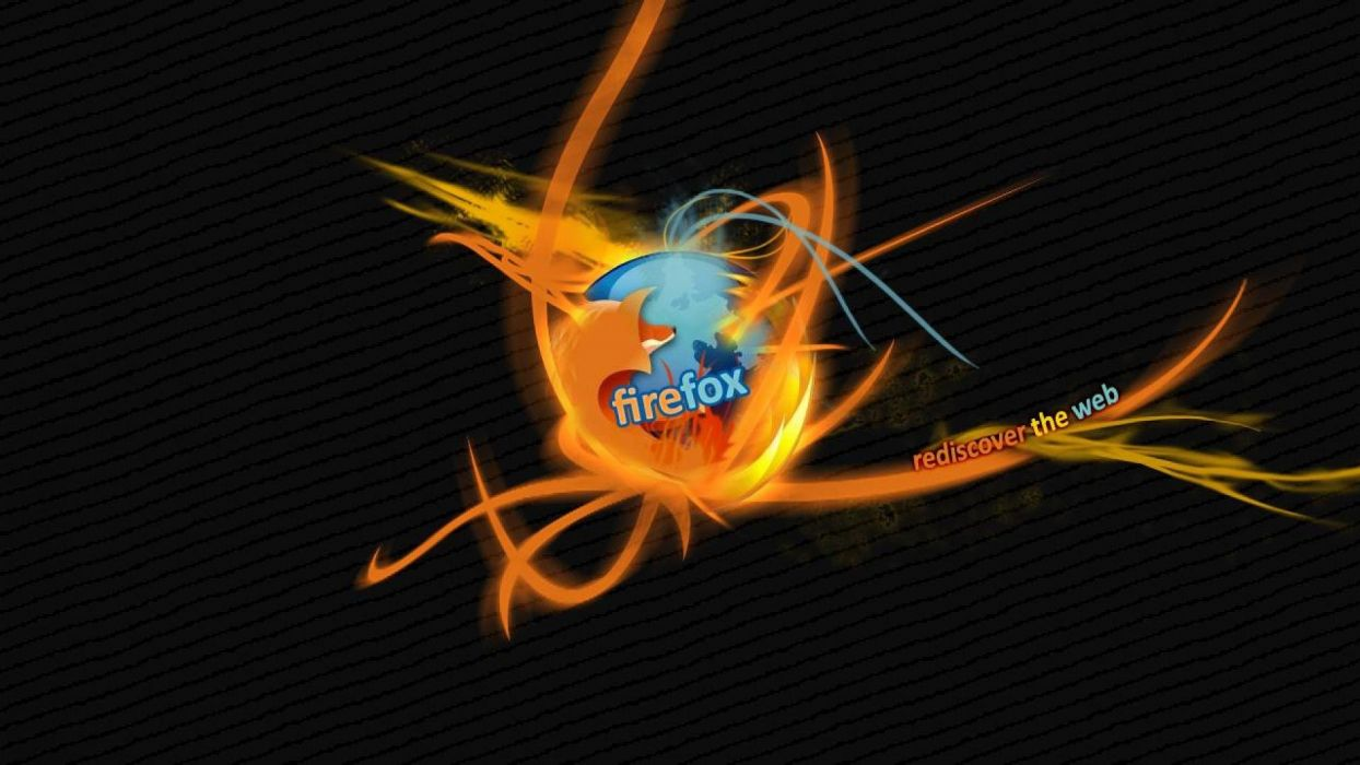 FIREFOX computer fire fox logo poster wallpaper
