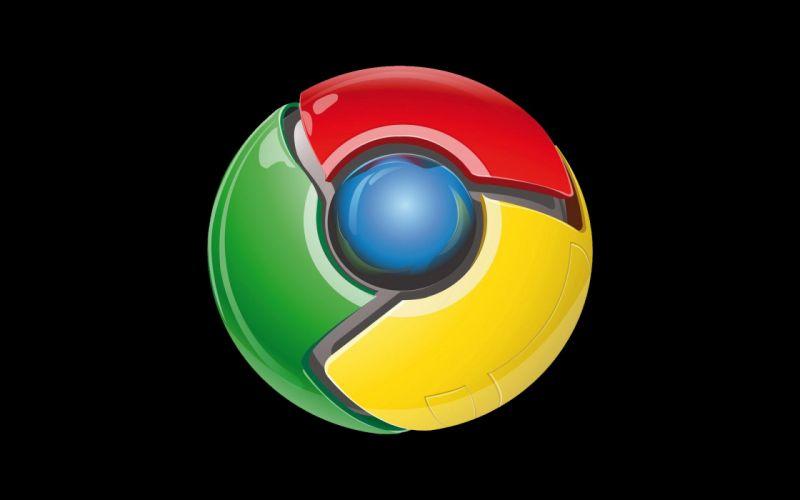 GOOGLE CHROME computer logo poster wallpaper