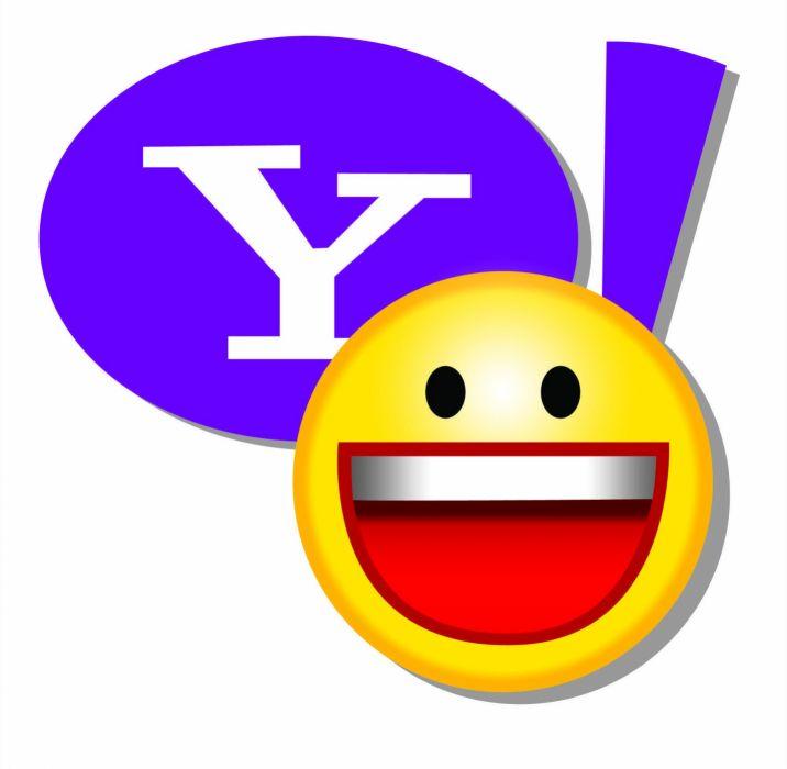 YAHOO computer logo poster wallpaper