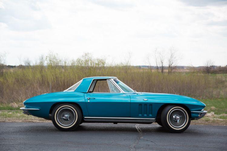 1965 Chevrolet Corvette Convertible Stingray Muscle Classic Old Original USA 07 wallpaper