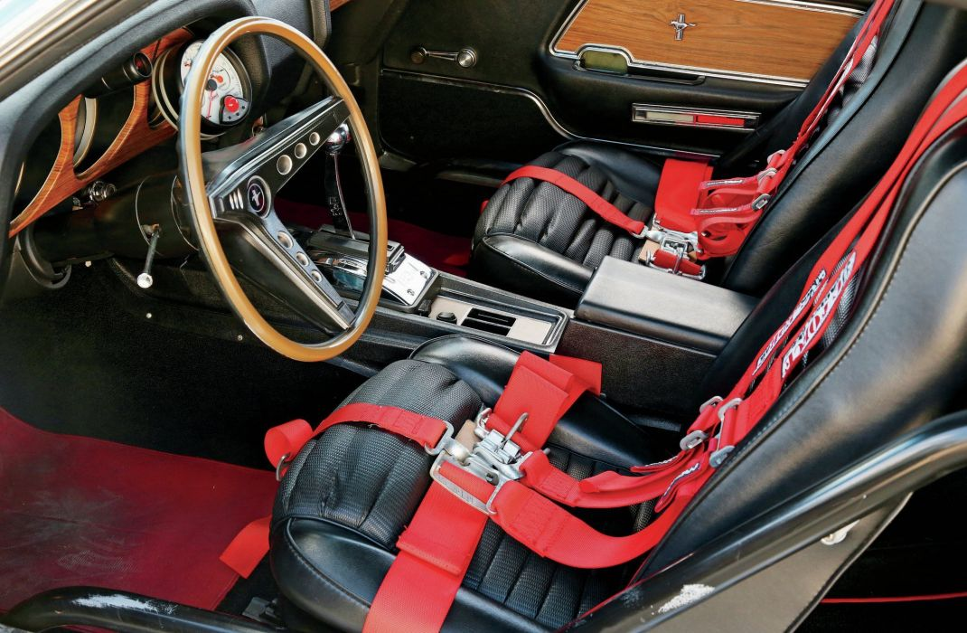1969 Ford Mustang Mach-1 Pro Street Rod Rodder Hot Drag USA 02 wallpaper