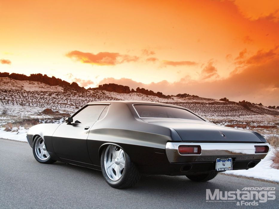 1972 Ford Gran Torino Prostreet Super Roddeer Rod Hot