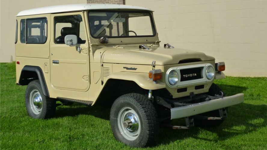 1978 Toyota Land Cruiser)Classic Ols Four Whell Drive Original 01 wallpaper