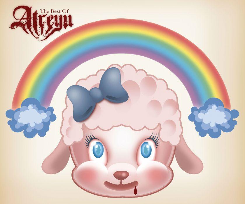 ATREYU metalcore hardcore alternative metal nu-metal poster rainbow wallpaper