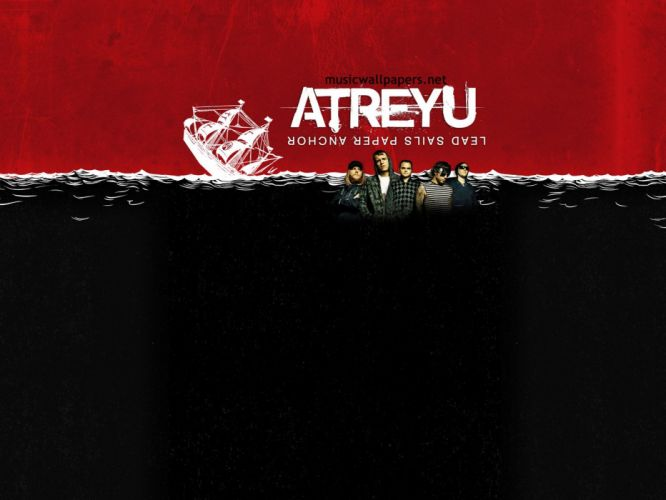 ATREYU metalcore hardcore alternative metal nu-metal poster wallpaper
