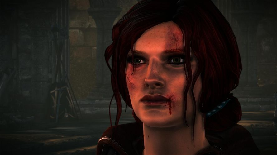 The Witcher 2 Assassins of Kings Triss Merigold redhead wallpaper