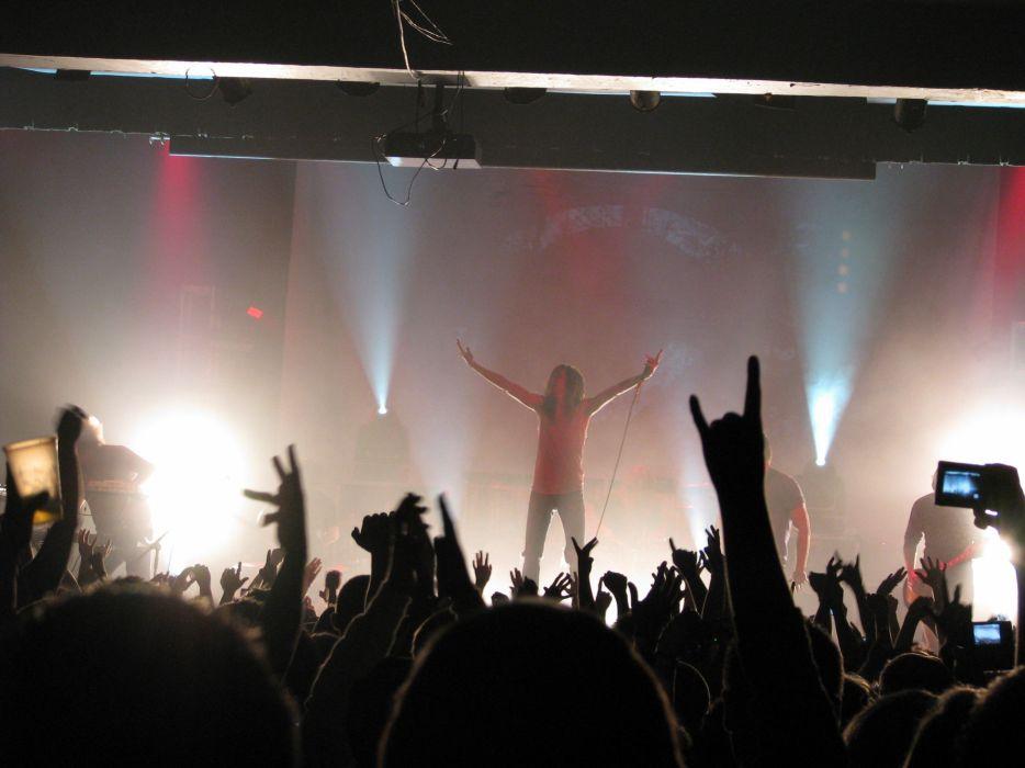 UNDEROATH christian metalcore hardcore religion 1undero emo screamo concert wallpaper
