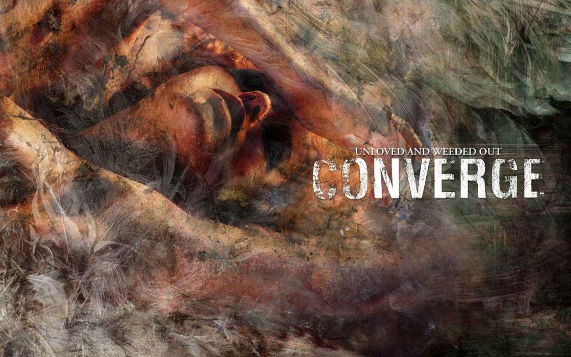CONVERGE punk metalcore hardcore mathcore 1conv alternative poster wallpaper