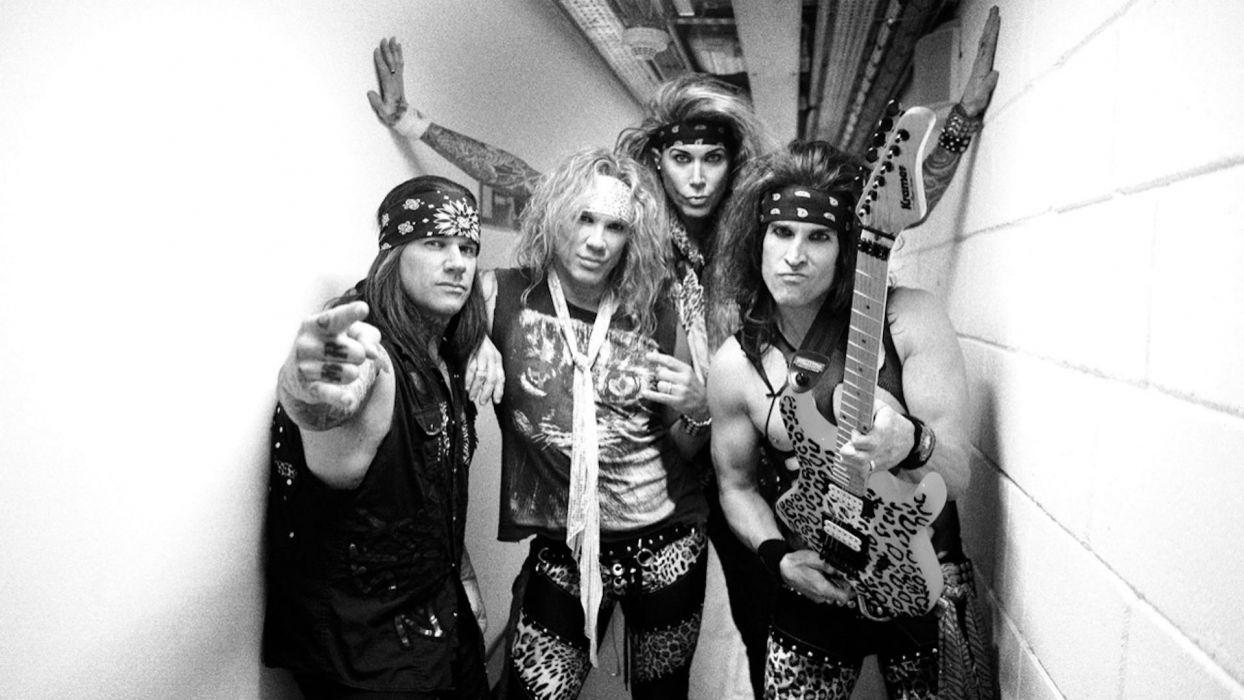 STEEL PANTHER hair metal heavy guitar wallpaper