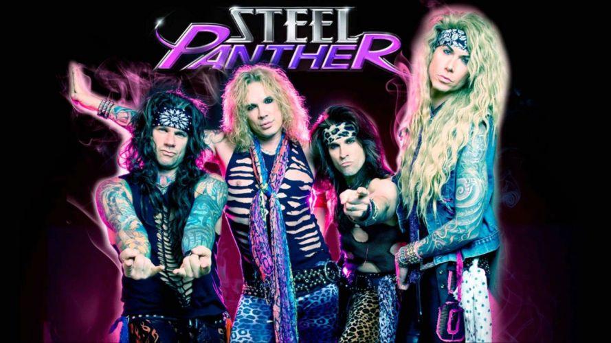 STEEL PANTHER hair metal heavy poster wallpaper