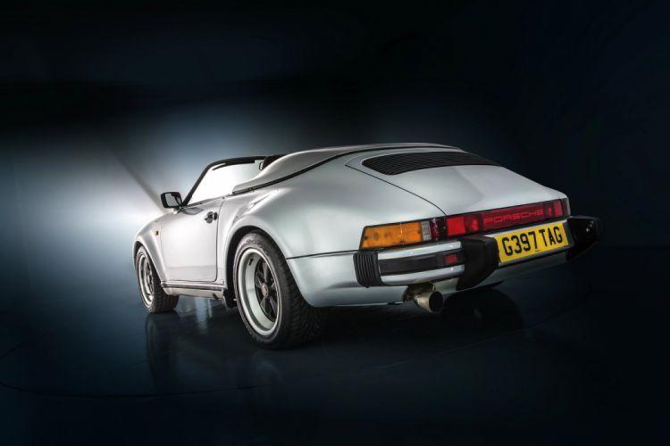 Porsche 911 Carrera Speedster Turbolook UK-spec cars 1989 wallpaper