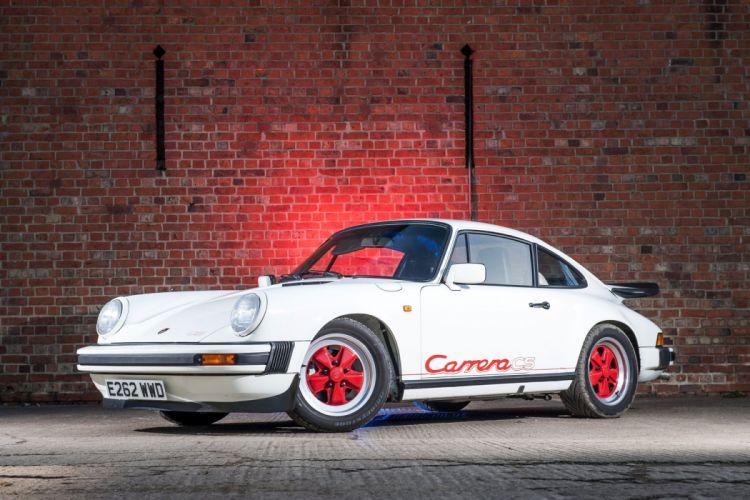 Porsche 911 Carrera 3 2 Clubsport Coupe UK-spec 911 1987 cars wallpaper