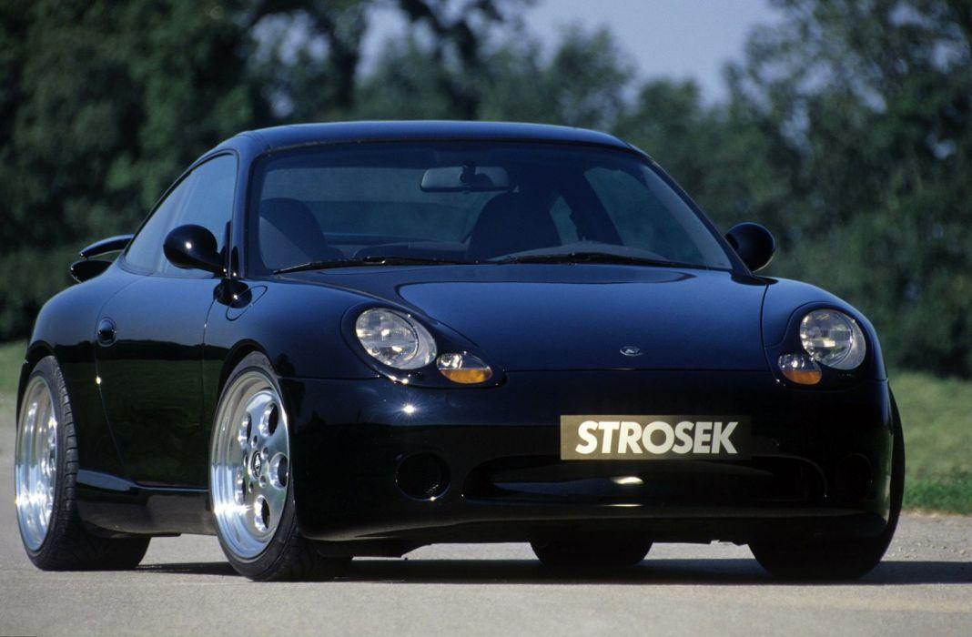 Strosek Porsche 911 Carrera 996 coupe cars tuning wallpaper