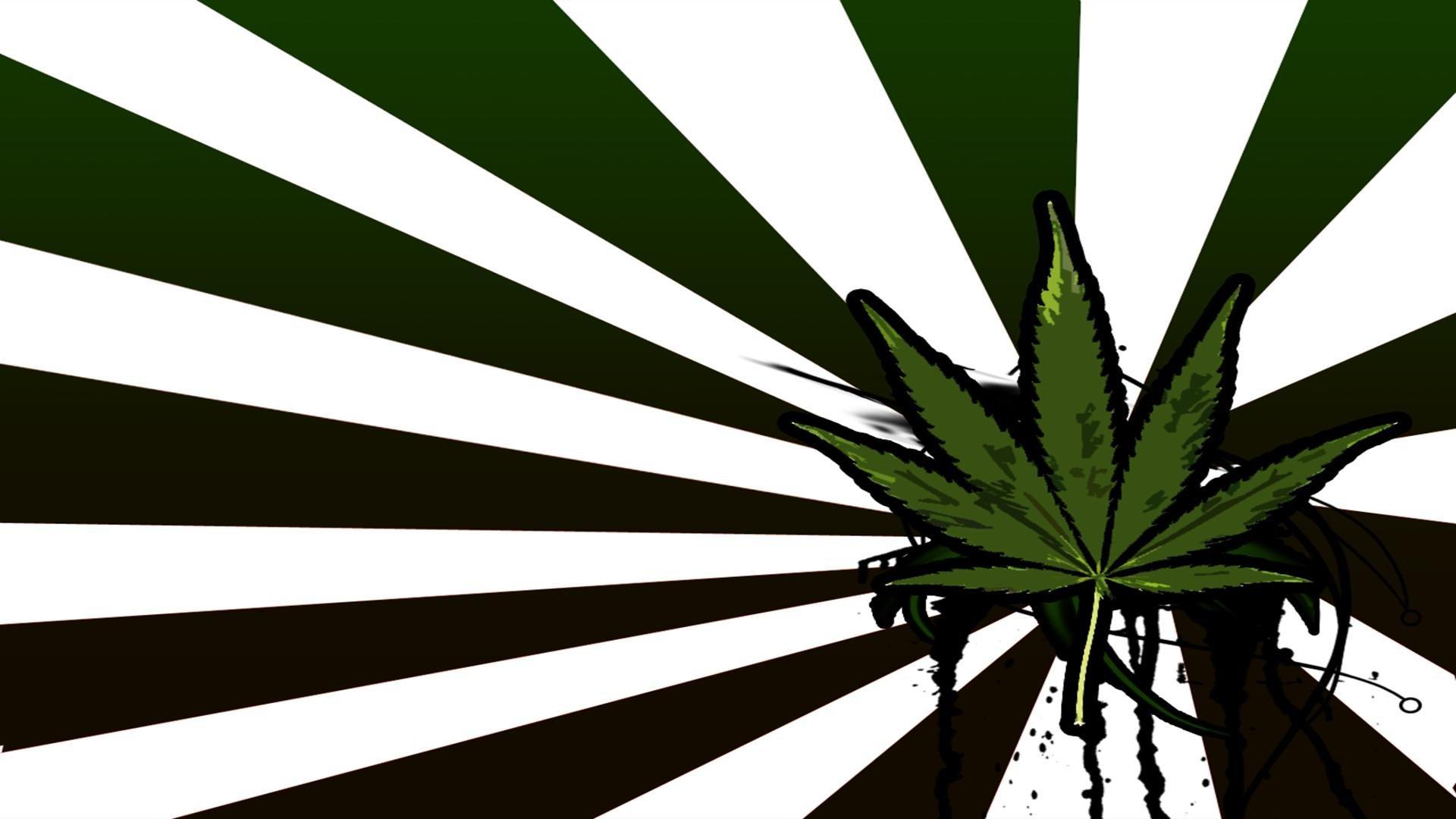 420 Marijuana Weed Drugs Psychedelic Wallpaper