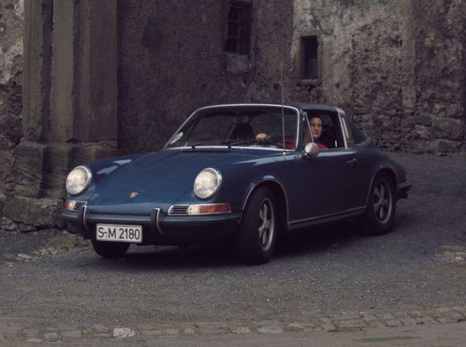 1970 Porsche 911-E 2 2l Targa classic cars wallpaper