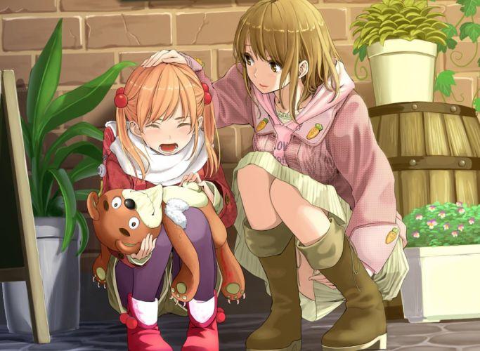 anime girls cry wallpaper