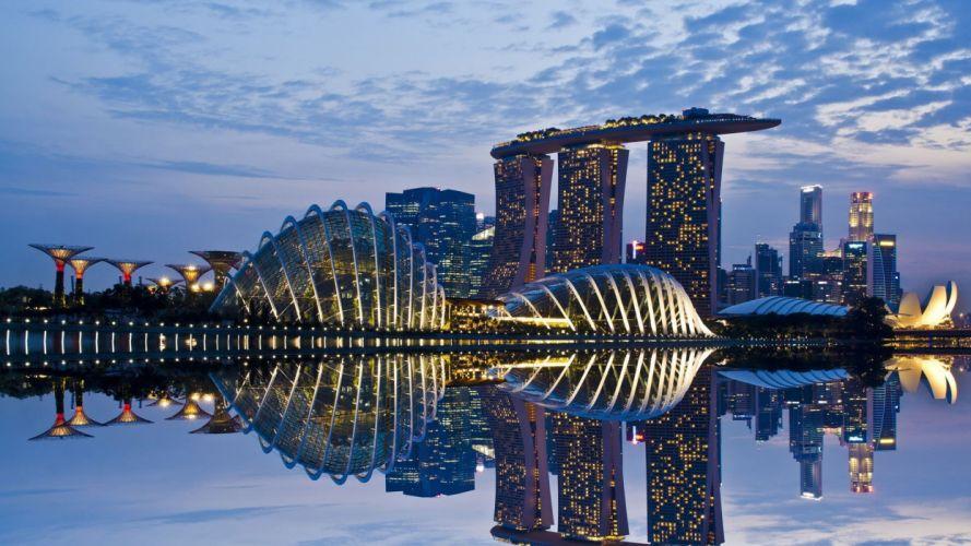 singapore-cities-clouds-garden-landscapes- wallpaper