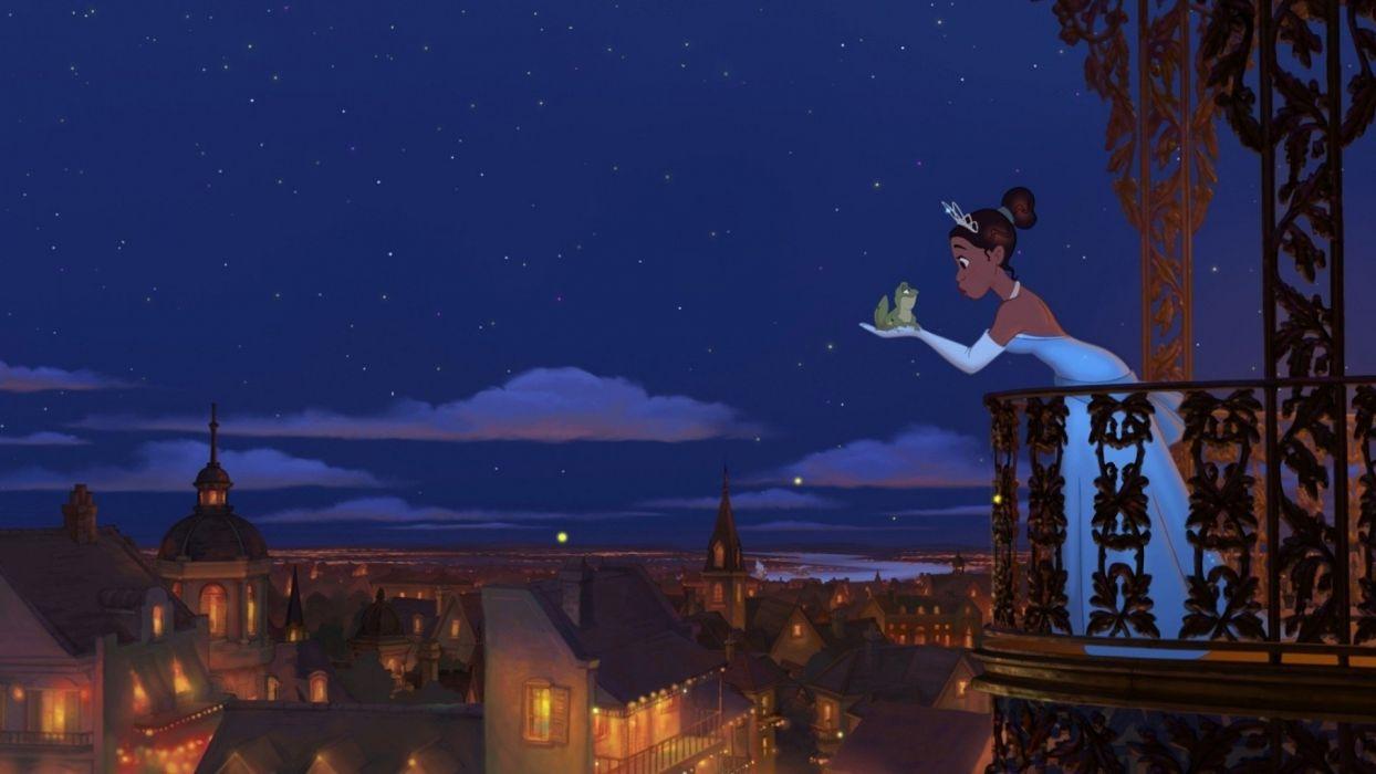 Princess and the Frog Disney wallpaper