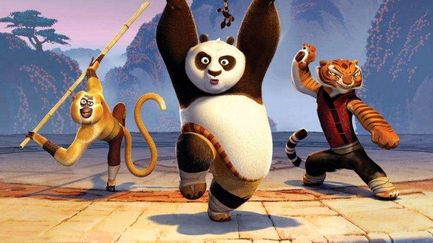 Cartoons Kung Fu Panda wallpaper