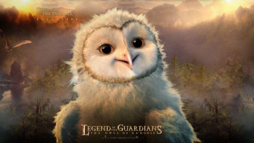 Cartoons Legend of the Guardians The Owls of Ga'Hoole Eglantine wallpaper