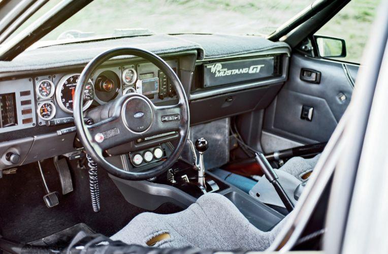 1986 Ford Mustang GT Pro Touring Super Street Rod Rodder Hot Muscle USA 2048x1360-03 wallpaper
