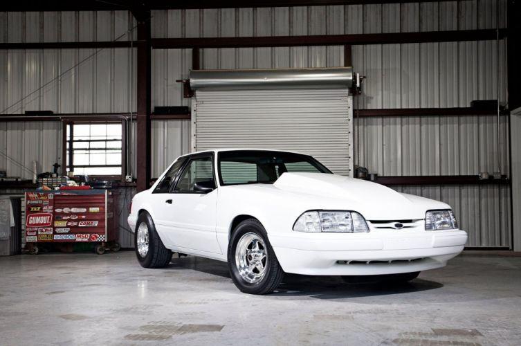 1992 Ford Mustang GT Notchback Pro Street Super Drag Muscle USA 2048x1360-01 wallpaper
