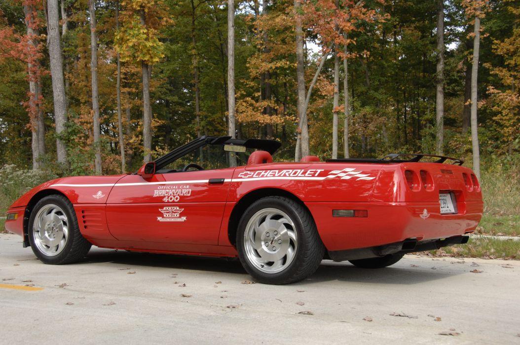 1994 Chevrolet Corvette Convertible Brickyard 400 Classic Original Official Car Muscle USA 06 wallpaper