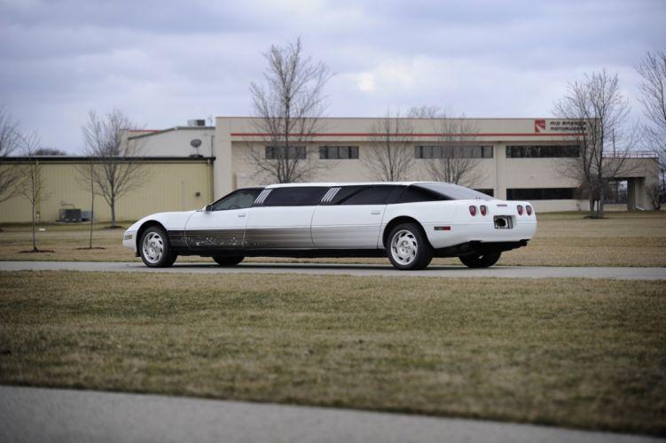 1994 Chevrolet Corvette Limousine Exotic Muscle USA 4256x2832-05 wallpaper