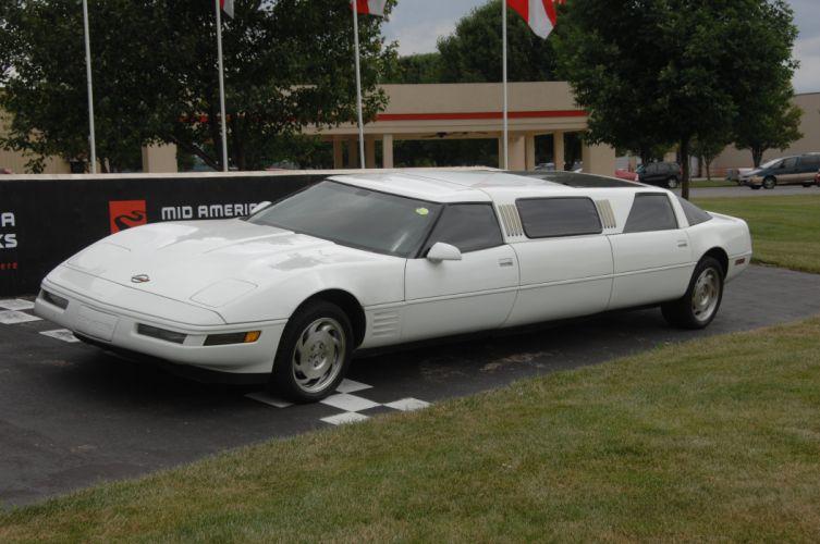 1994 Chevrolet Corvette Limousine Exotic Muscle USA 4256x2832-06 wallpaper