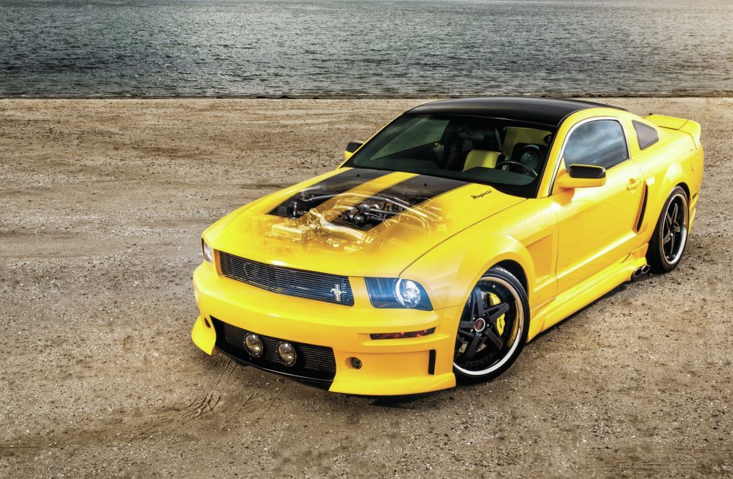 2008 Ford Mustang Muscle Pro Touring Suoper Street Rodder Rod Hot USA 2048x1340-01 wallpaper