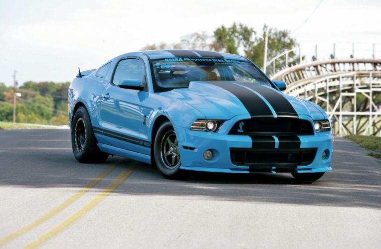 2013 Ford Mustang Shelby GT500 Street Drag Pro Super USA 2048x1340-01 wallpaper