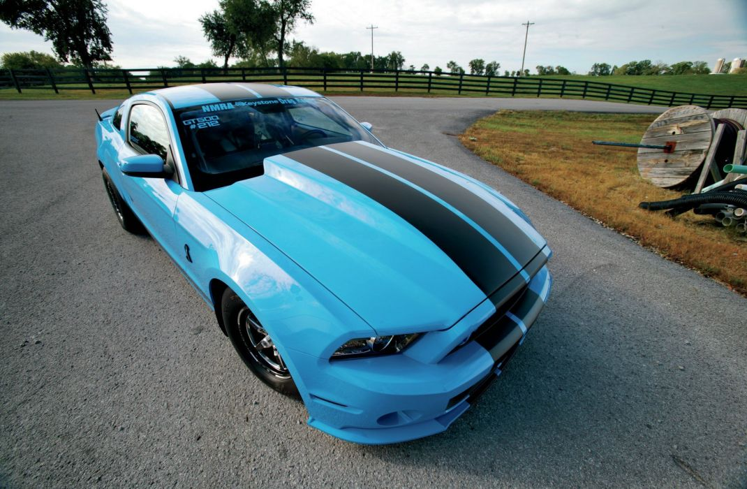 2013 Ford Mustang Shelby GT500 Street Drag Pro Super USA 2048x1340-03 wallpaper