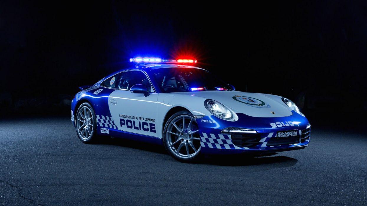 2014 Porsche 911 Carrera NSW Police Car German 1920x1080-01 wallpaper