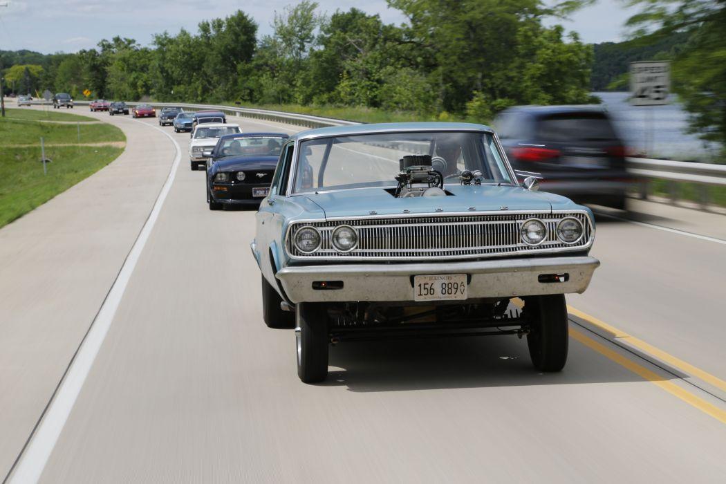 1965 Dodge Coronet A99 Pro Stock Drag Street USA 5750x3840 wallpaper