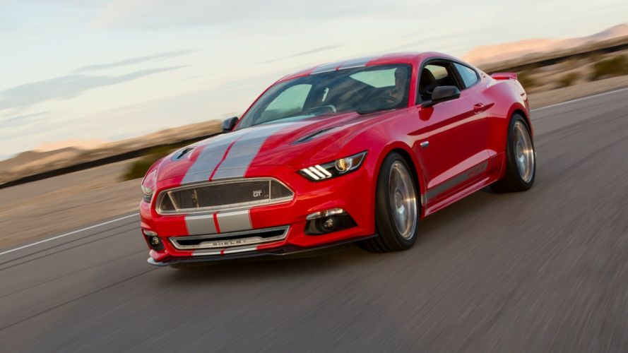 2015 Shelby GT coupe cars wallpaper