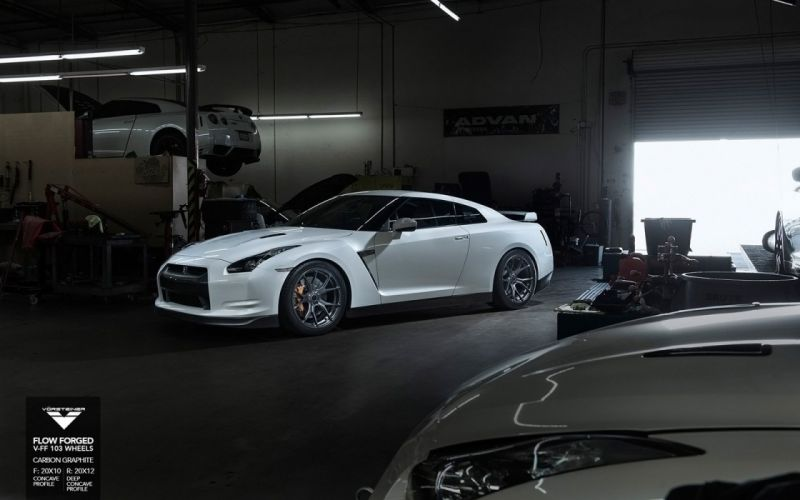 2015 Vorsteiner Nissan R35 GTR Wheels cars tuning wallpaper