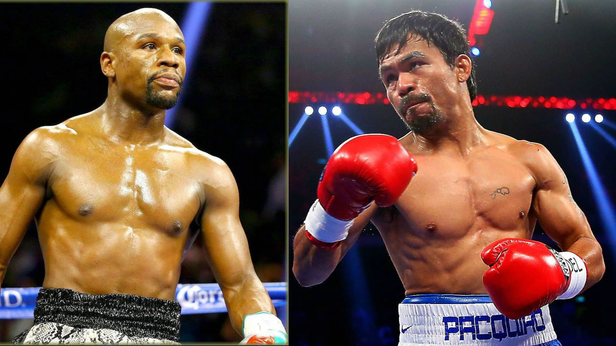 MAYWEATHER PACQUIAO boxing manny floyd fighting warrior wallpaper