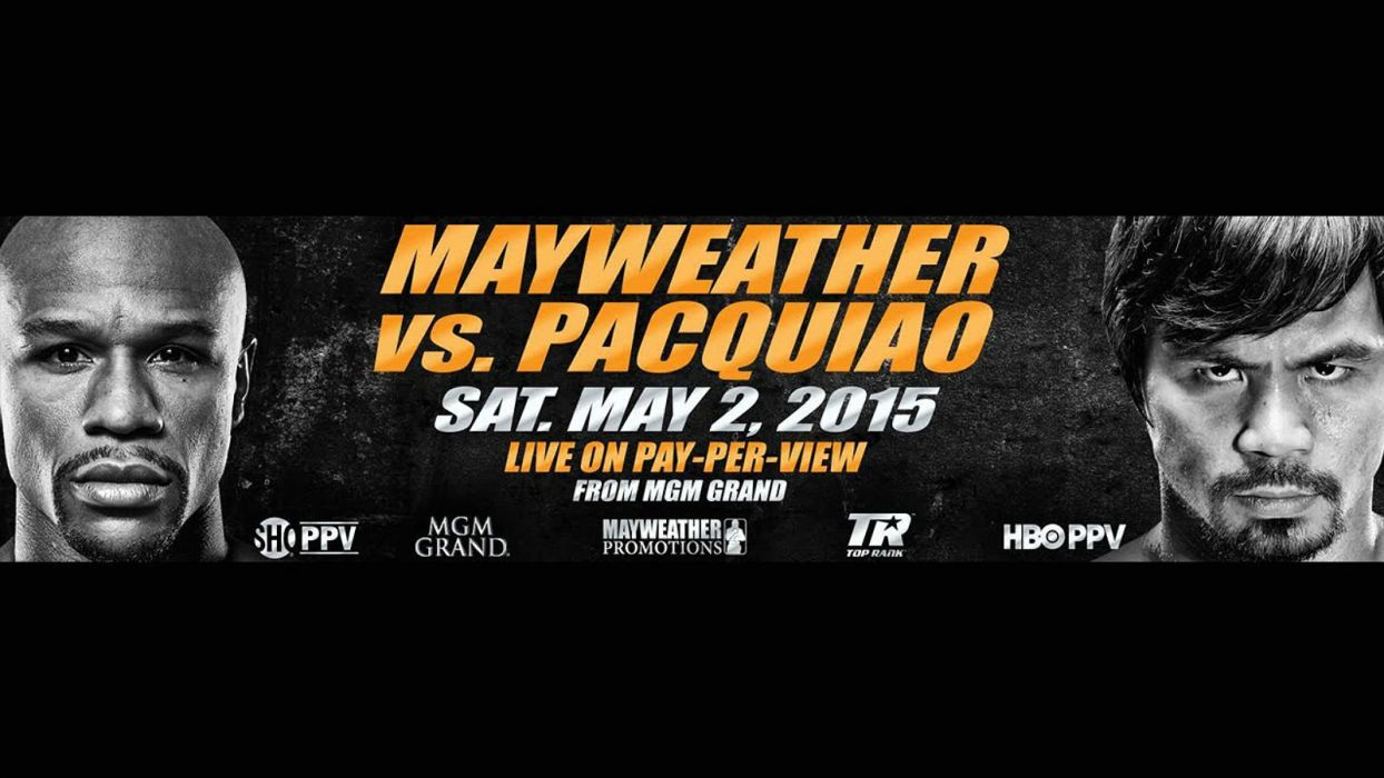 MAYWEATHER PACQUIAO boxing manny floyd fighting warrior poster wallpaper