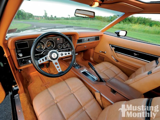 1977 Ford Mustang Ghia Classic Old Muscle Original USA 1600x1200-03 wallpaper
