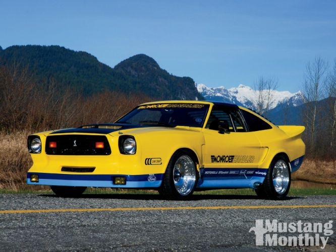 1978 Ford Mustang Cobra GT Monroe Handler Muscle Street Rodder Rod USA 1600x1200-04 wallpaper