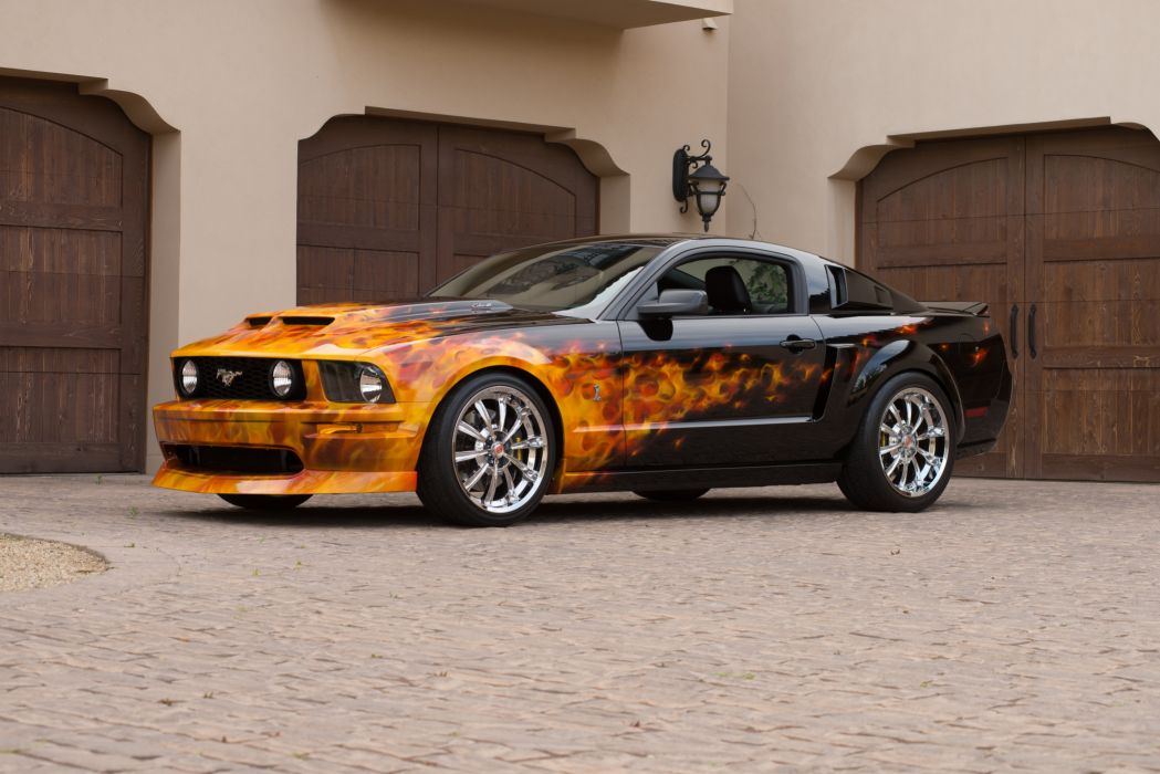 2007 Ford Mustang GT Pro Touring Super Street Rodder Rod Muscle USA 6016x4016-01-02 wallpaper
