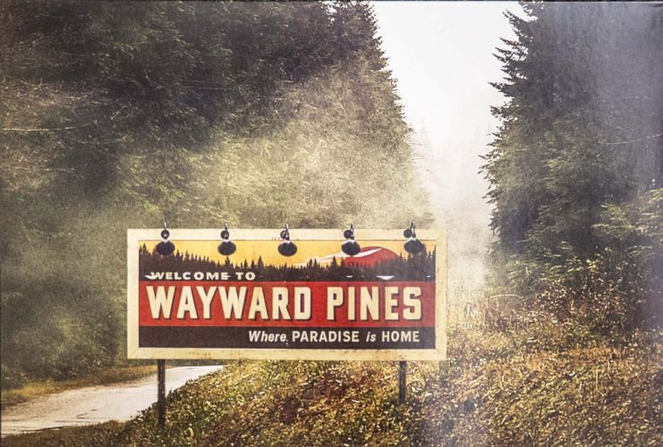 WAYWARD PINES fox series drama mystery 1wpines crime thriller poster wallpaper