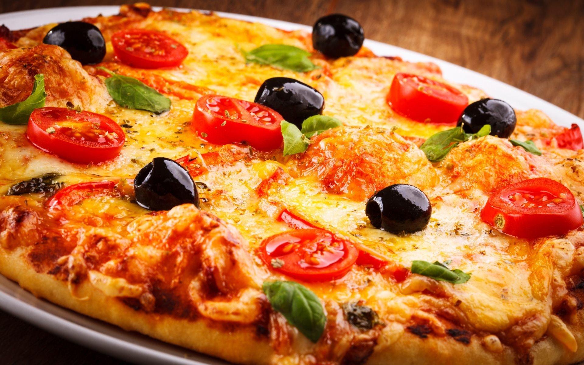 pizza pie lunch dinner wallpaper | 1920x1200 | 677830 | wallpaperup