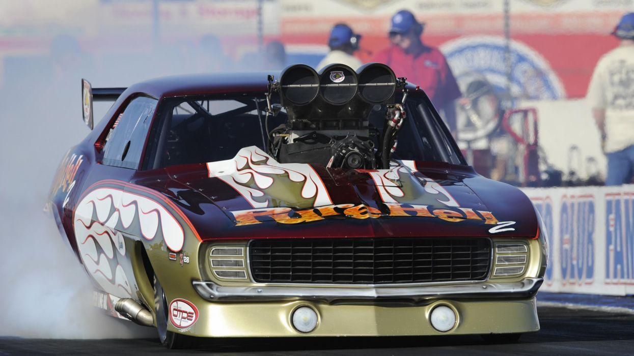 DRAG RACING race hot rod rods chevrolet camaro f wallpaper