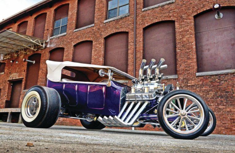 1923 Ford Model-T Hotrod Hot Rod T-bucket Street Rodder USA 2048x1340-04 wallpaper